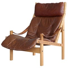 Midcentury Easy Chair Model Hunter by Torbjørn Afdal for Bruksbo, Norway