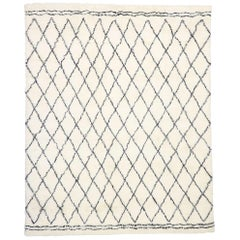 Contemporary Moroccan Style Rug with Cozy, Hygge Vibes and Organic Modern Style