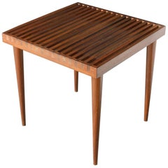 Mel Smilow Slat Side Table