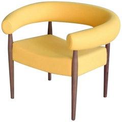 Nanna Ditzel Ring Chair for GETAMA in Walnut