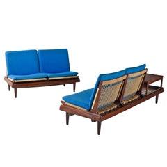Hans Olsen TV 161 for Bramin Mobler Modular Rope Seating & End Table Sofa Set
