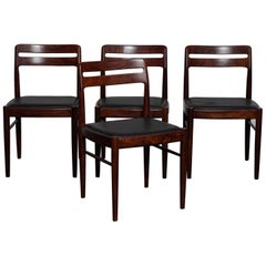 Set of 4 H.W. Klein Rosewood Dining Chairs for Bramin, Denmark, 1960s