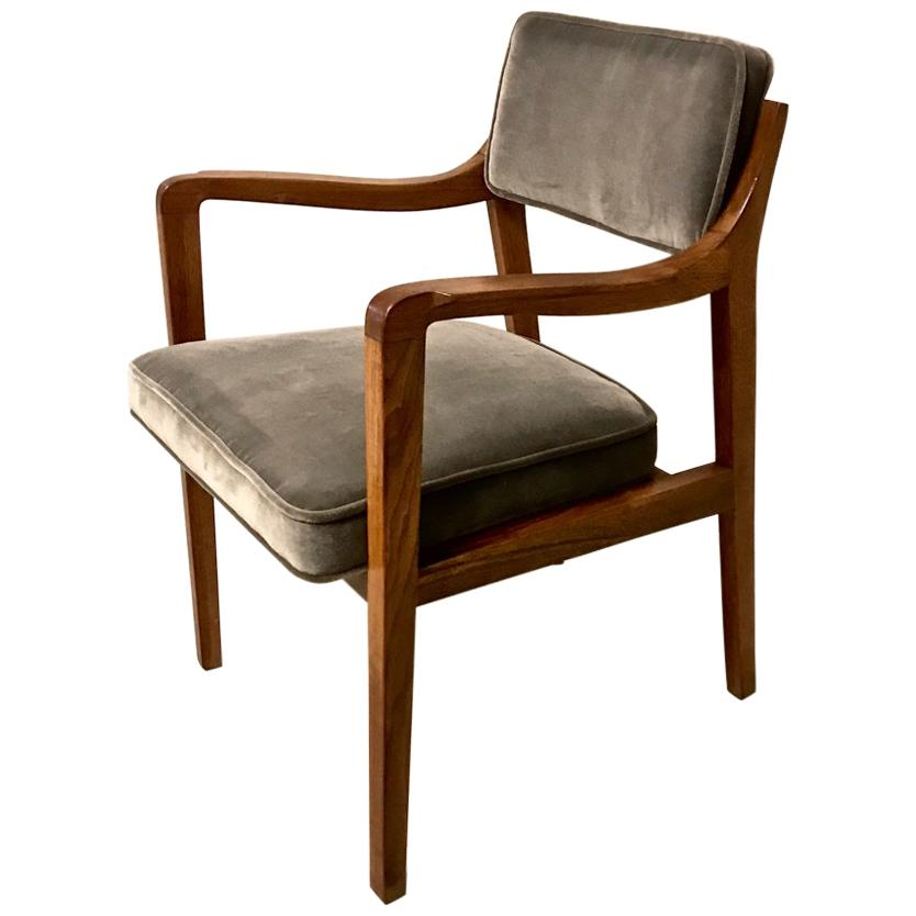 Pair Edward Wormley for Dunbar Model 830 Lounge Chairs, 2 pairs