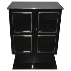 Art Deco Dry Bar or Cabinet