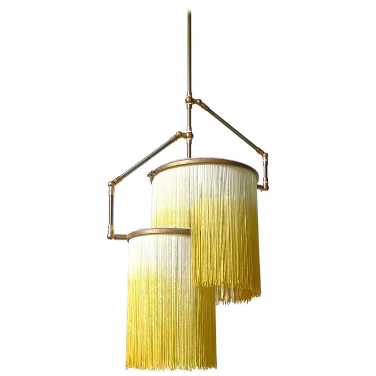 Yellow Charme Pendant Lamp, Sander Bottinga
