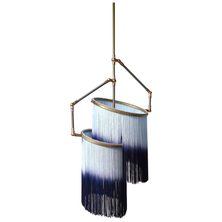 Blue Charme Pendant Lamp, Sander Bottinga For Sale