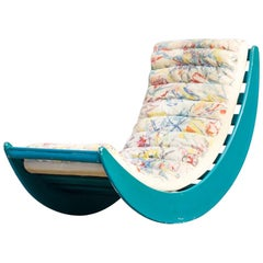 1970s Verner Panton Relax Lounge Rocking Chair for Rosenthal
