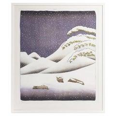 David Hockney 'Snow' Lithograph