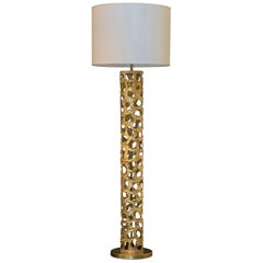 "Flair Edition ""Cylinder"" Brass Floor Lamp, Italy 2019"