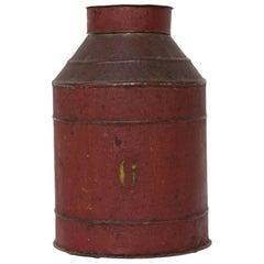 Old Dutch Tin for Tea, circa 1900