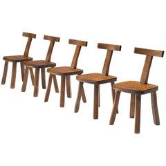 Olavi Hänninen Set of Sculptural Chairs