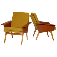 Pair of Retro Lounge Chairs, 1970s