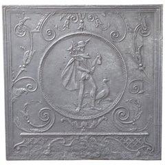 19th Century French 'Mercury' Fireback
