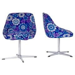 Pair of Retro Swivel Chairs, 1970s