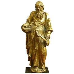 Figure in Gilded Bronze St. Paul