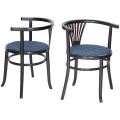Set of Two Chairs Banker Thonet Mundus, 1929