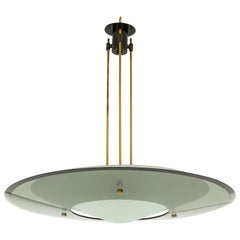 Max Ingrand for Fontana Arte Chandelier Model 2097