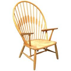 Hans Wegner Johannes Hansen Knoll Peacock Chair, 1970s