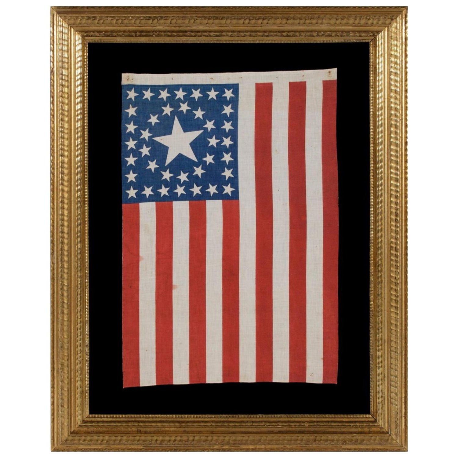 be8fc4f3a31 38 Star Flag with Stars in a Circle-in-a-Square Medallion Configuration