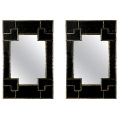 """Beautiful Pair of """"Bamboo"""" Mirrors at cost price"""