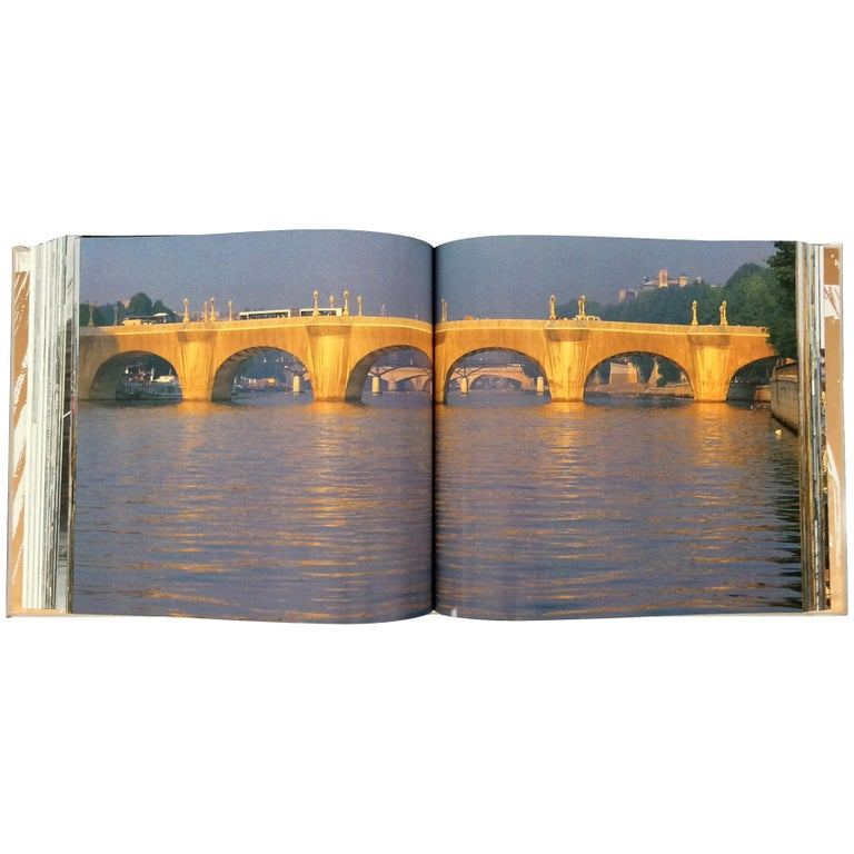 """Christo & Jeanne-Claude Monograph """"Le Pont Neuf, Wrapped"""" For Sale"""