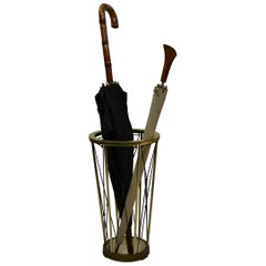 Umbrella Stand, Black Webbed, 1950s