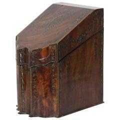 George III Mahogany Document box