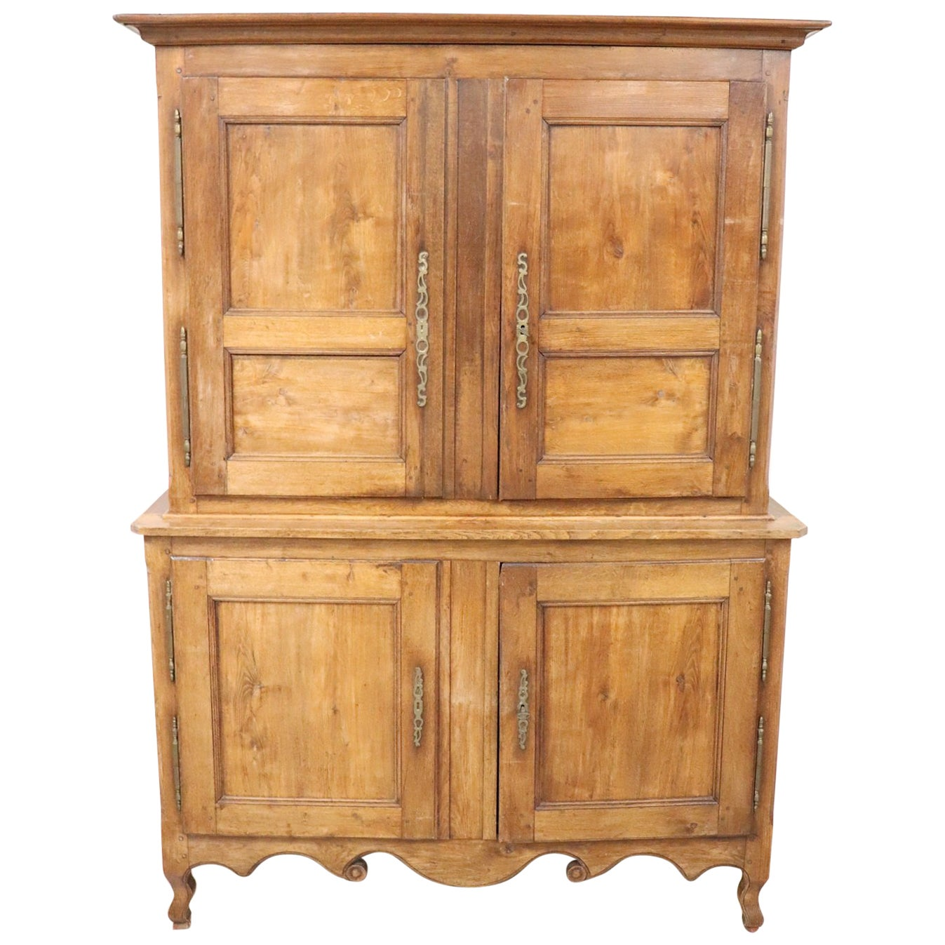 19th Century French Oak Wood Sideboard Or Buffet 1850s For Sale At