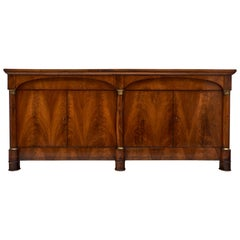 French Antique Empire Period Walnut Buffet