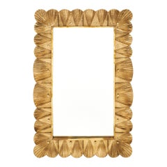 Murano Glass Gold Leaf Mirror
