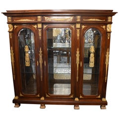 19th Century Empire Armoire
