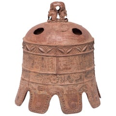 17th Century Chinese Grand Wanli Iron Bell