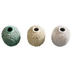 Gunnar Nylund Stoneware Vases for Rörstrand Sweden, 1960