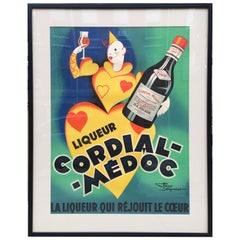 Liqueur Cordial-Medoc French Poster