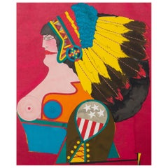 Richard Lindner 'Miss American Indian', 1970