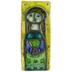 Ceramic Plaque by Kari Odka