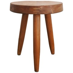 Charlotte Perriand Early Wood Stool Edited by Georges Blanchon