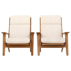 Two Easy Chairs by Hans J. Wegner