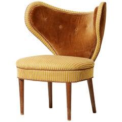 Midcentury 'Heart Chair' by Brøndbyøster Møbel & Trævarefabrik, Denmark, 1950s