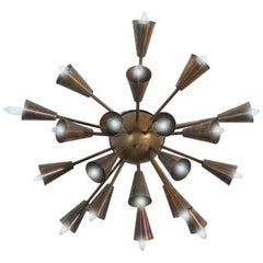 Sputnik Sconce or Ceiling, Italy, 1950s