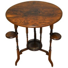 Victorian Rosewood Arts & Crafts Occasional Table