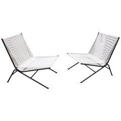 Allan Gould Pair of Bow String Chairs