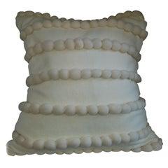 """Lido"" Off White Wool Pillow"