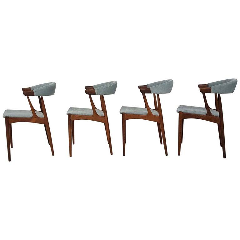 Dining Chairs BA113 by Johannes Andersen for Andersens Møbelfabrik, Denmark 1969 For Sale