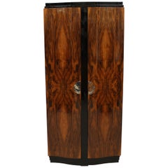 Art Deco Two-Door Armoire after Emile Jacques Ruhlmann