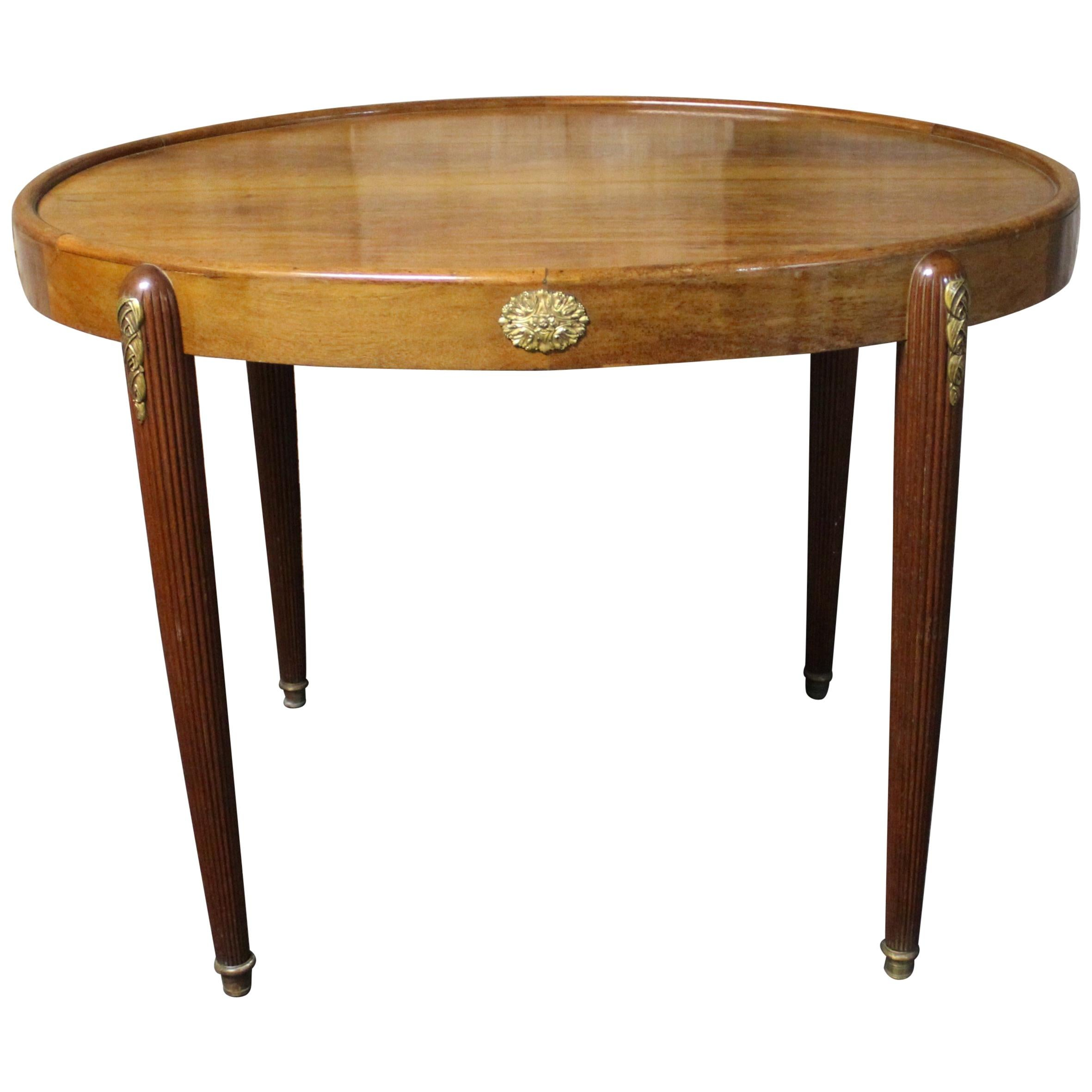 French Art Deco Serving or Console Table with Louis XVI Inspiration