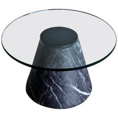 Lodovico Acerbis and Giotto Stoppino Marble Occasional Table, circa 1980