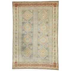 Antique Persian Shiraz Rug with American Craftsman Style