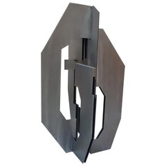 Nicoloff Dimitri Abstract Steel Sculpture, circa 200, Edition of 3