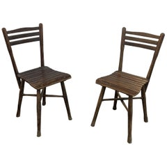 Pair of Chairs in the Thonet Style, circa 1900